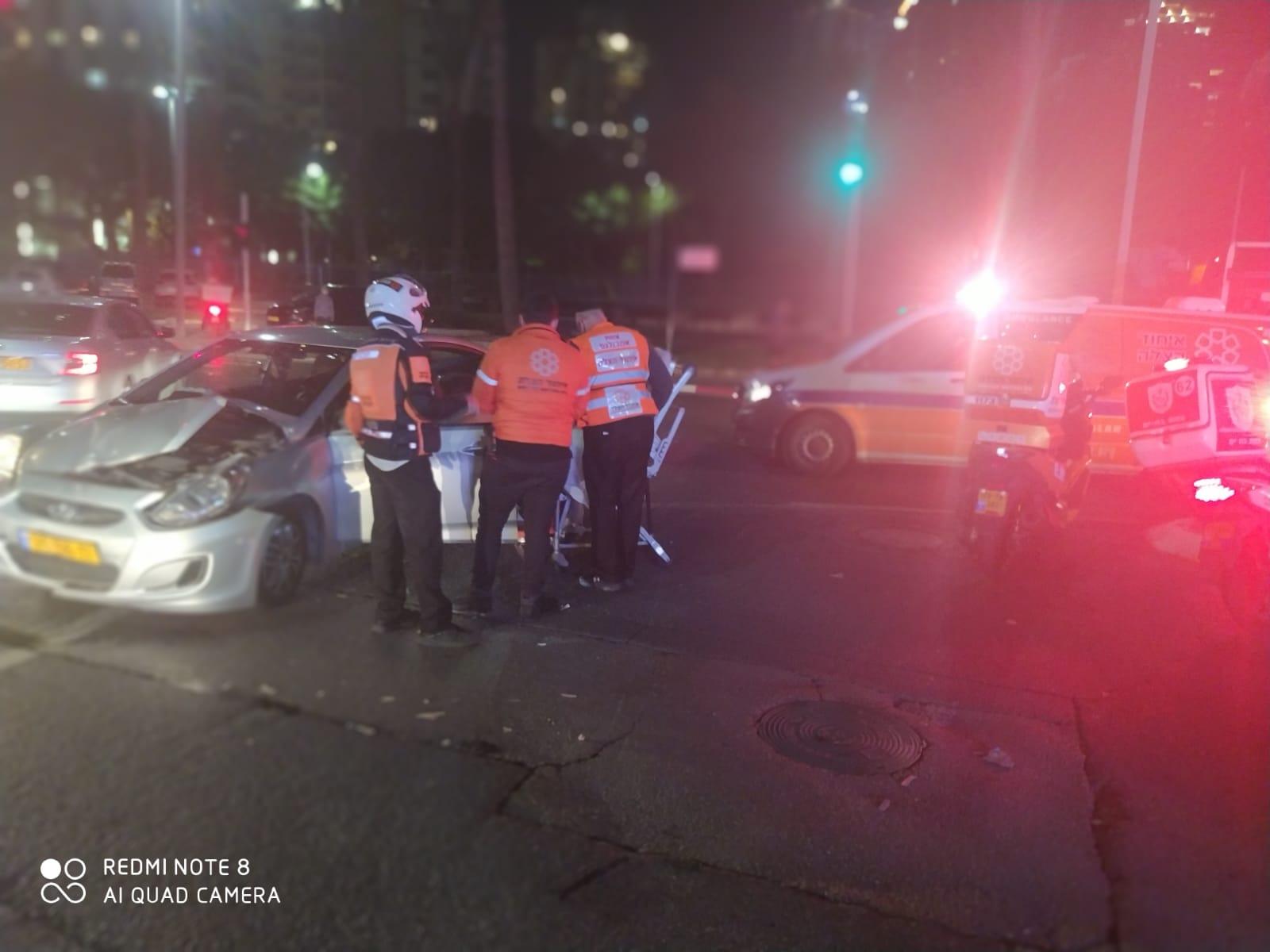 תאונה רכב צילום דוברות איחוד הצלה
