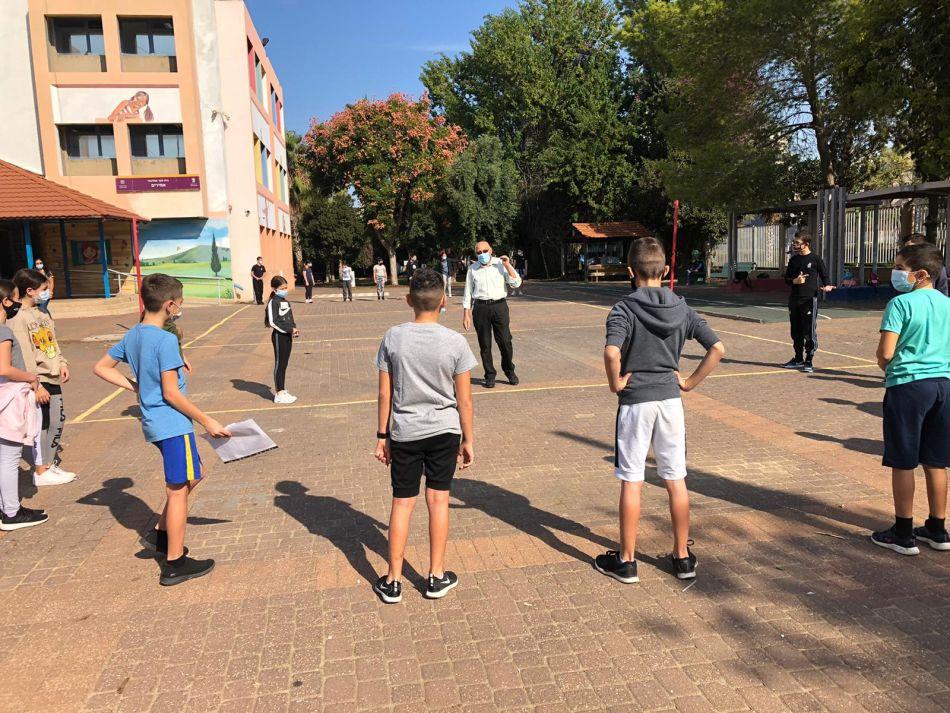 תלמידים בית ספר ילדים צילום עיריית חולון