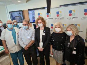 ענת אנגל מרכז רפואי צילום דוברות וולפסון