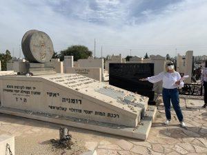 אבנים מדברות יום הזכרון לשואה צילום עיריית חולון