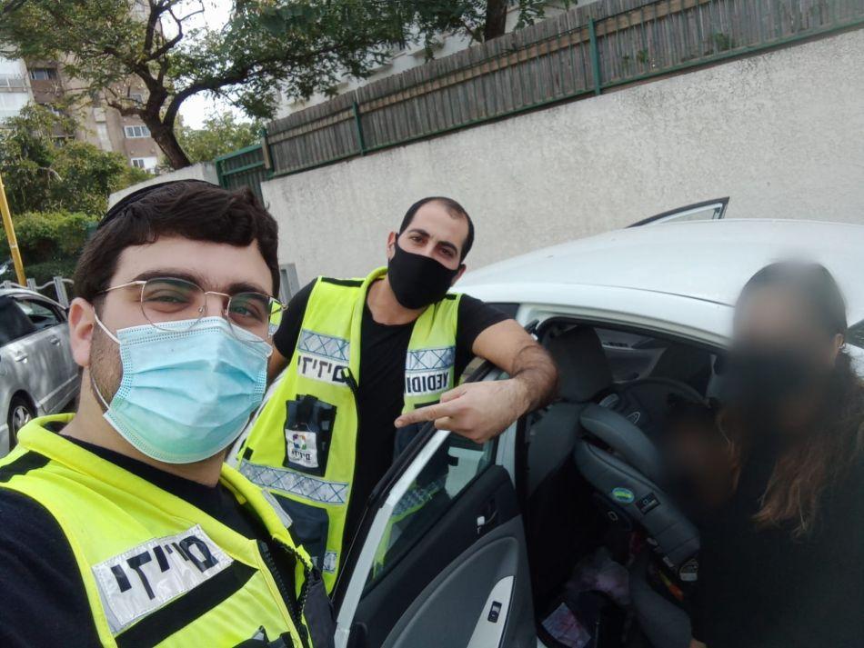 חילוץ רכב ליאור לוי מתנדבים צילום ידידים סיוע בדרכים