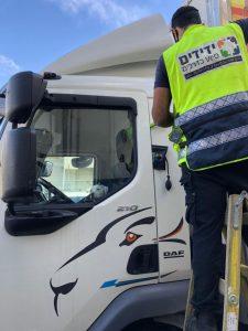 ליאור לוי משאית חילוץ צילום ידידים סיוע בדרכים