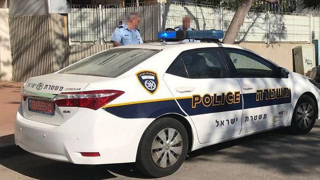 ניידת צילום דוברות משטרת ישראל