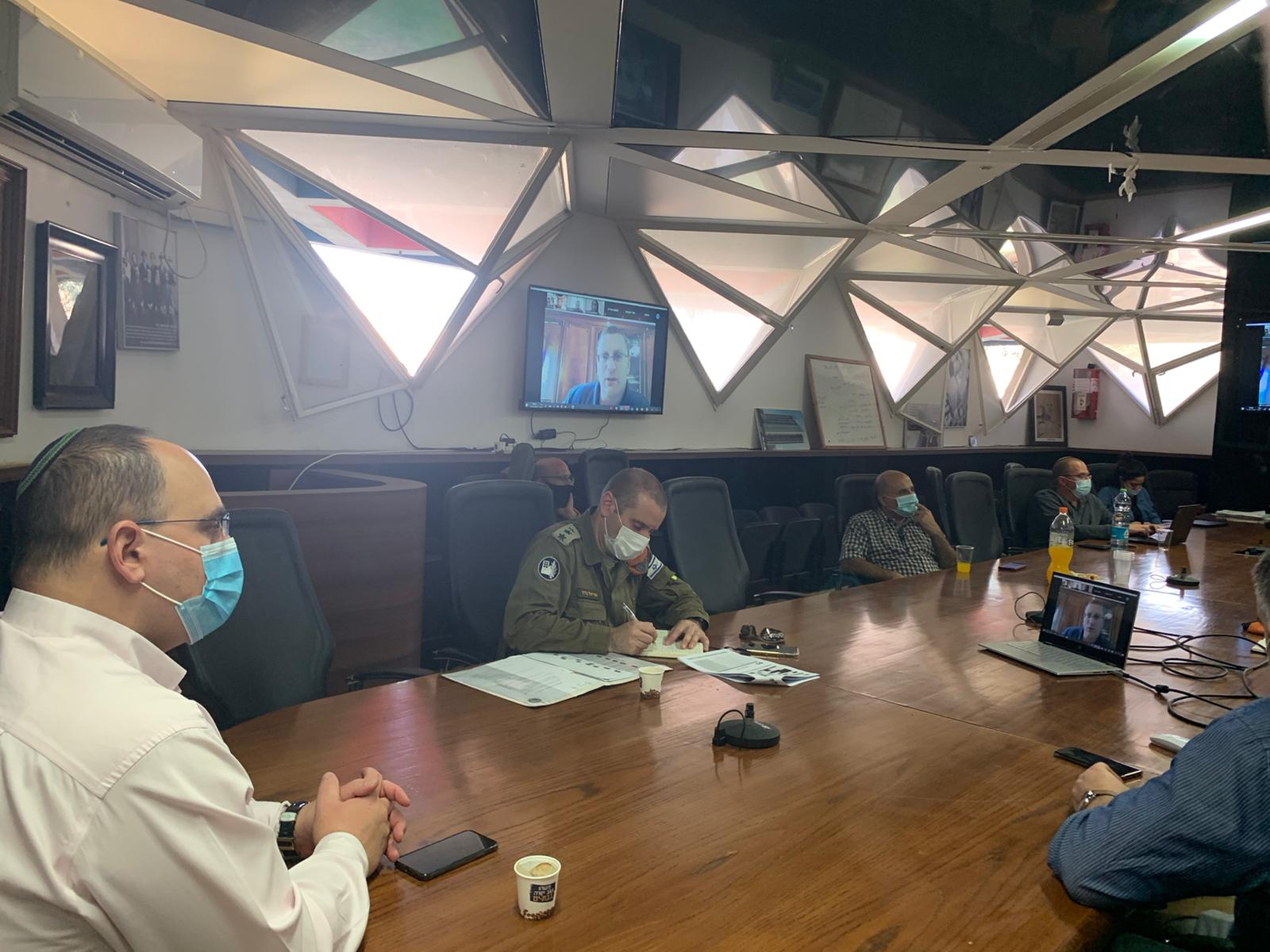 עיריית בת ים1 פיקוד העורף אלמ אריאל בליץ צביקה ברוט צילום דובר צהל
