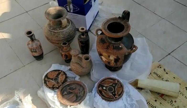 עתיקות צילום דוברות משטרת ישראל