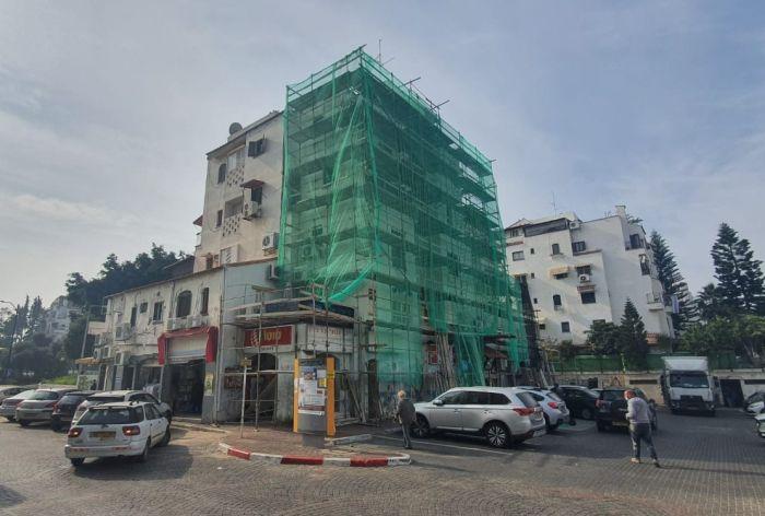 פרויקט שיפוץ חזיתות פואבלו אספניול. צילום: דוברות העירייה