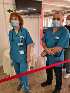 רופאים צוות רפואי צילום דוברות וולפסון