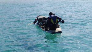 אופנוע ים צילום דוברות משטרת ישראל