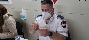 חיסוני קורונה בקרוואן החיסונים של מדא בבת ים – צילום דוברות מדא 15.2.21 (4)