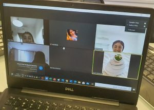 מחשב זום תלמידים צילום אשר אזולאי