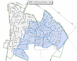 מפה סירוס חתולים צילום עיריית חולון