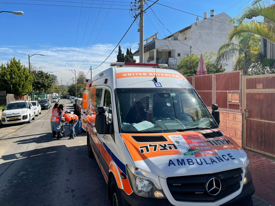 אמבולנס מתנדבים צילום דוברות איחוד הצלה