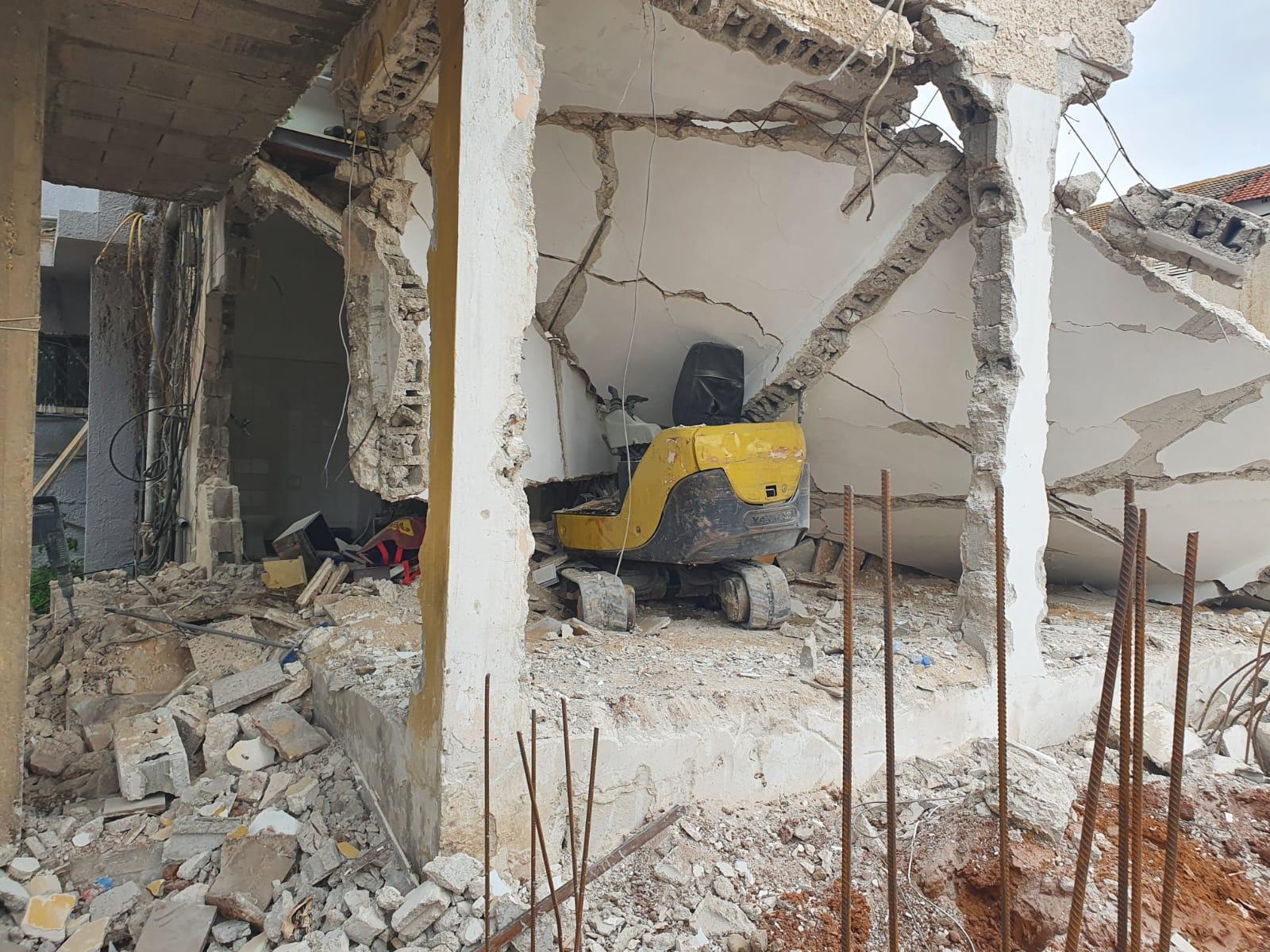 בניין קריסה צילום תיעוד מבצעי כבאות והצלה