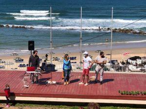 מנקים את החוף הופעה צילום פרטי