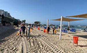 מנקים את החוף 2 צילום פרטי
