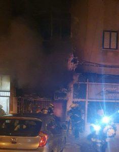 שריפה חנות צילום דוברות כבאות והצלה