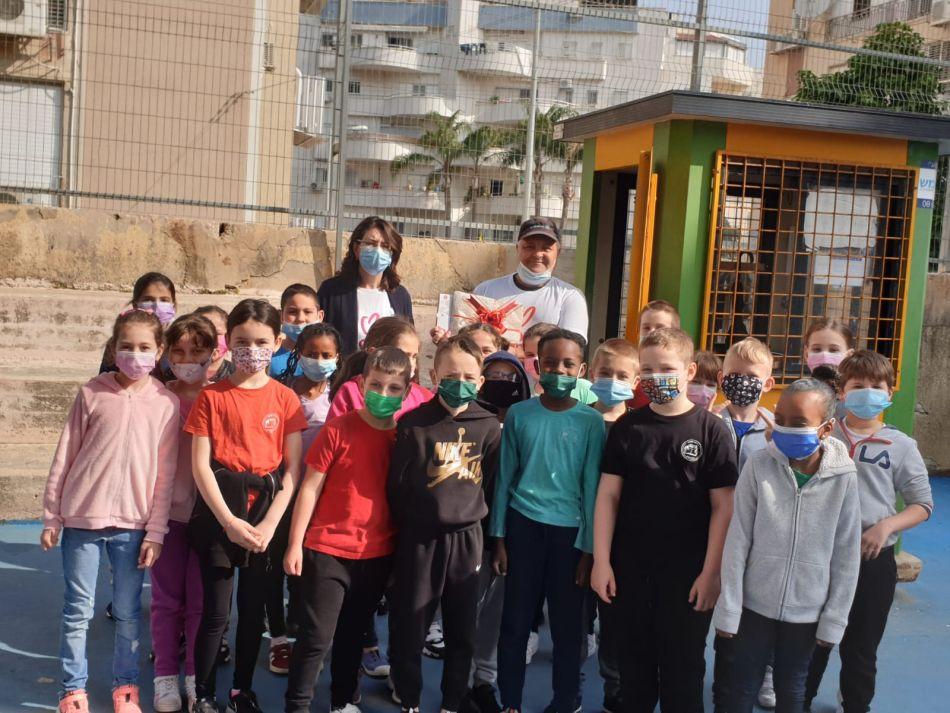 תלמידים בית ספר צילום דוברות עיריית ראשון לציון