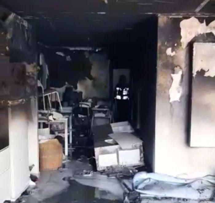 הבית השרוף. צילום: תיעוד מבצעי כבאות והצלה ראשון לציון