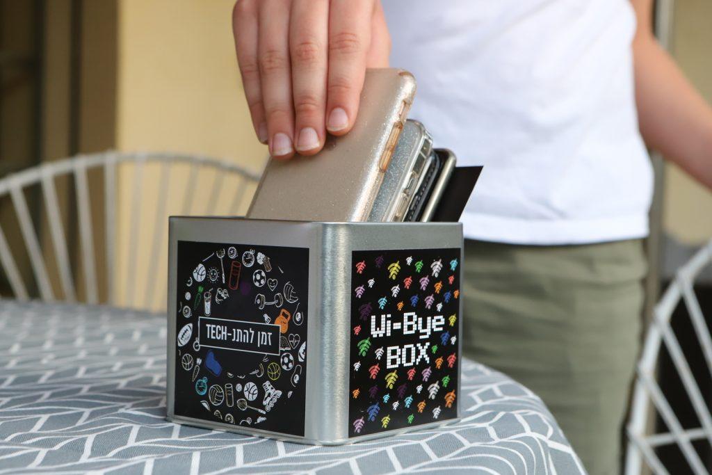 הקופסה שיצרו תלמידי השכבה. צילום: איתן אלחדז ברק