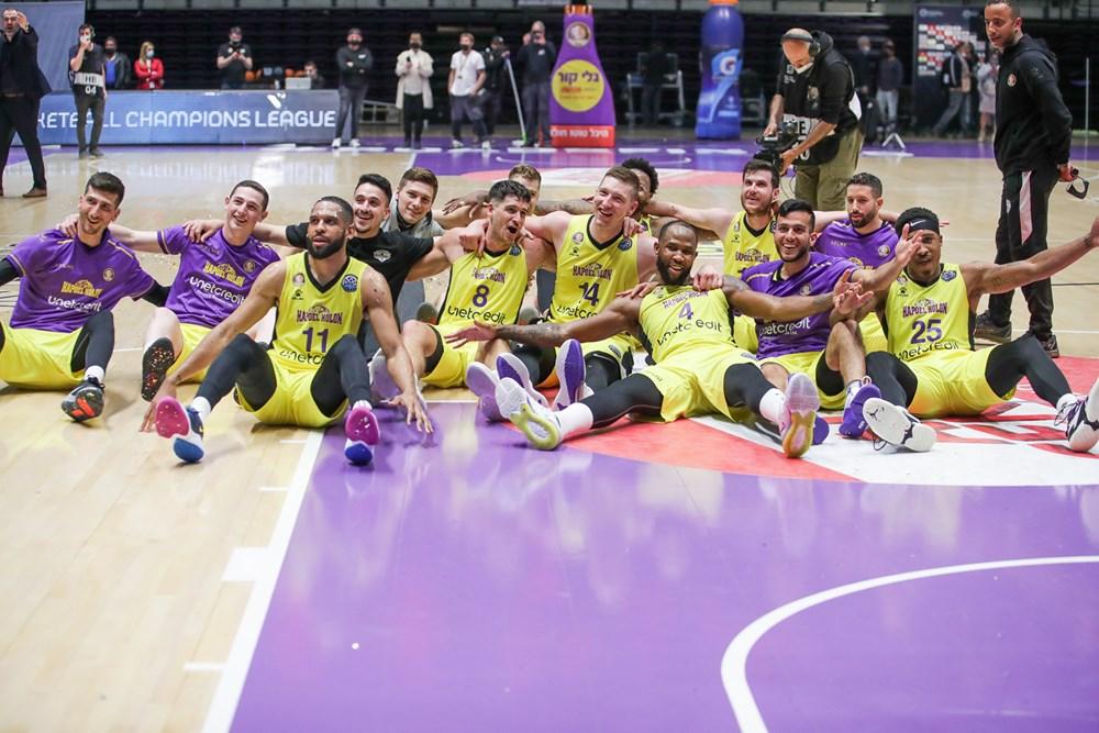 חולוניה חוגגת- צילום FIBA BASKETBALL