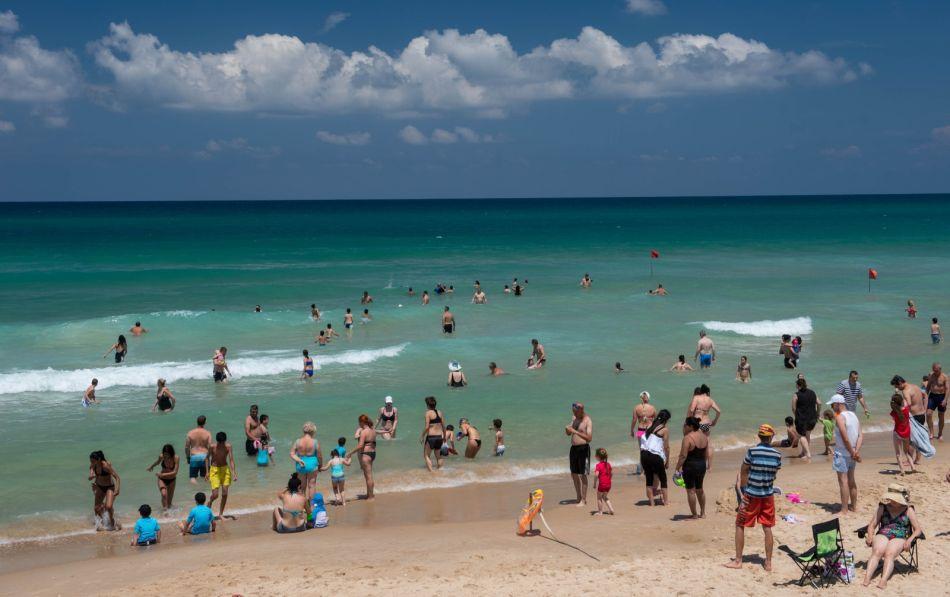 חוף ים צילום דוברות עיריית ראשון לציון