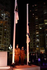 טקס לזכר חללי מערכות ישראל וחללי פעולות האיבה תשפא 2021 בחולון, צילום-טל קירשנבאום (12)