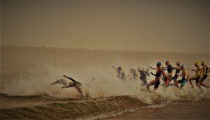 טריאתלון שחייה צילום יוסי רובננקו