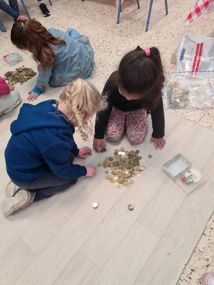 ילדים מטבעות צילום דוברות עיריית ראשון לציון