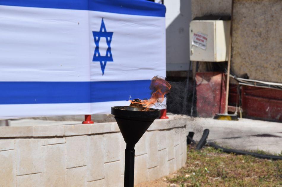 נר דגל צילום דוברות כבאות והצלה