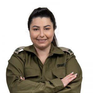 סגן אלונה קורן צילום דובר צהל