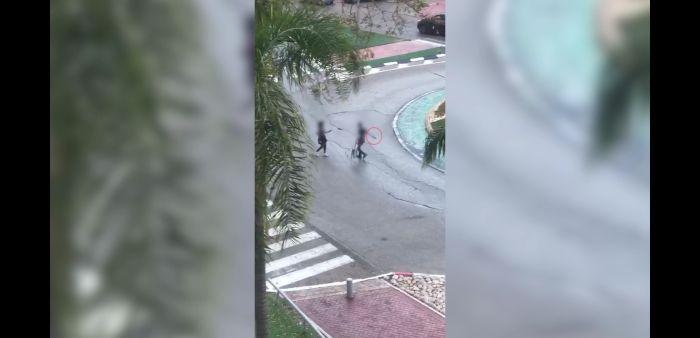 ילום מתוך הסרטון: דוברות המשטרה