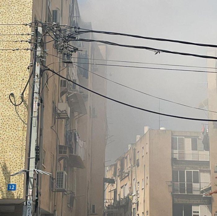 שריפה בדירה. צילום: הפיקוח העירוני