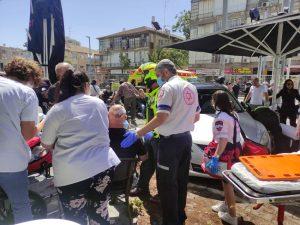 תאונה מסעדה פראמדיק צילום תיעוד מבצעי מדא