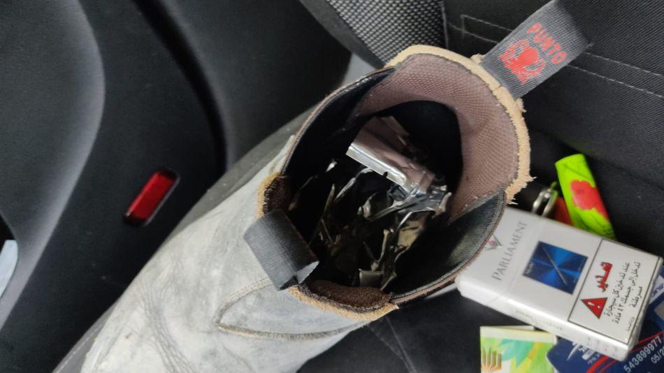 הסמים שנתפסו במונית- צילום דוברות משטרת ישראל