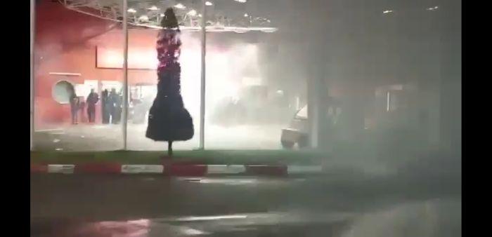 """התפרעויות בבית חולים שמיר אסף הרופא. צילום: דוברות ביה""""ח"""