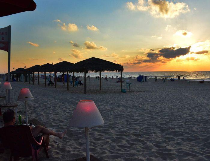 חוף ראשון. צילום: יוסי נמט