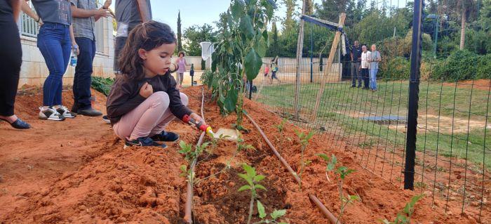 חנוכת הגינה הקהילתית בגני תקווה