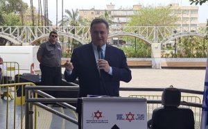 ישראל כץ צילום דוברות מדא