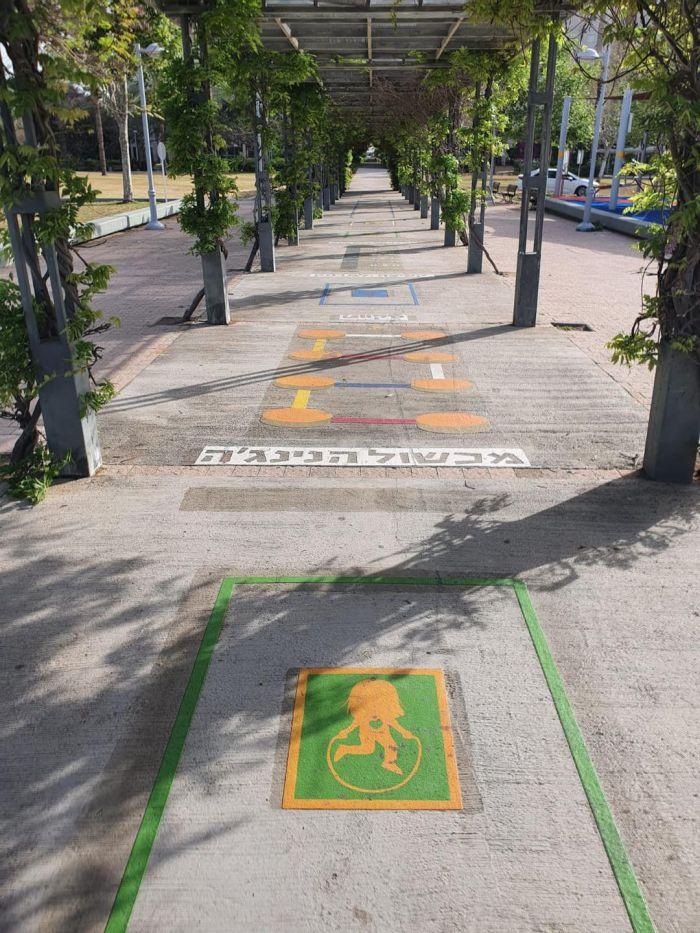 מסלול הנינג'ה. צילום: דוברות העירייה