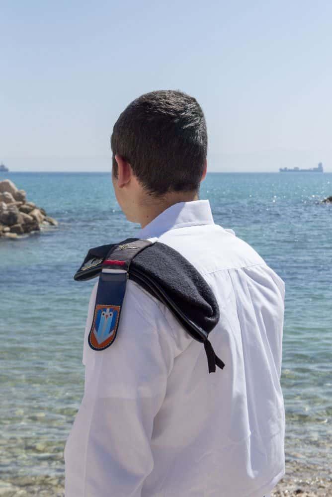 בוגר קורס צוללן סמל מ' מבת ים צילום דובר צהל