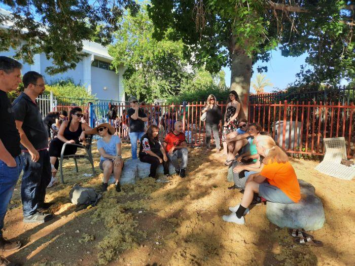 השקת הגינה הקהילתית. צילום: עיריית ראשון