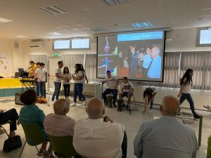להקת בית הספר פרס בטקס קריאת בית הספר החדש בחולון על שמו של שמעון פרס, 13.6.21, צילום-עיריית חולון