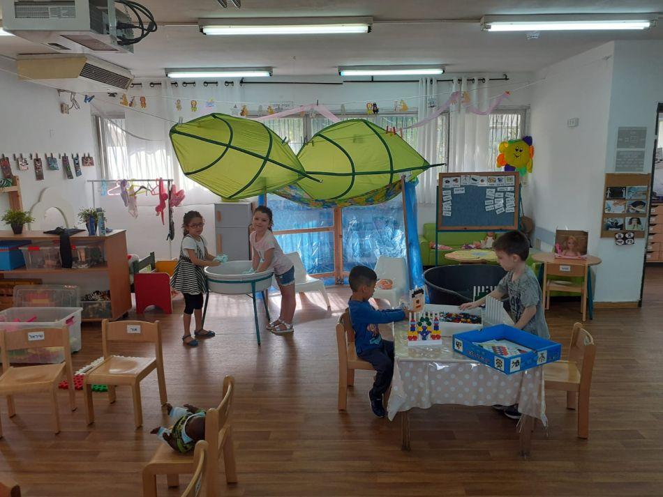 פעילות בגני הילדים בחולון צילום-עיריית חולון