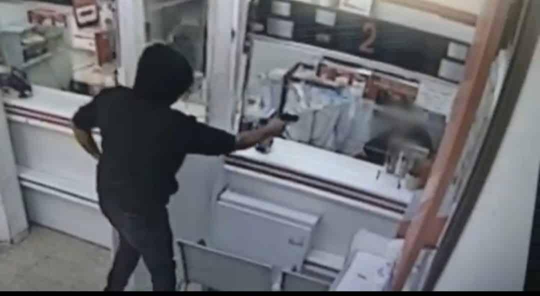 שוד בסניף הדואר עם אקדח איירסופט, קרדיו דוברות המשטרה