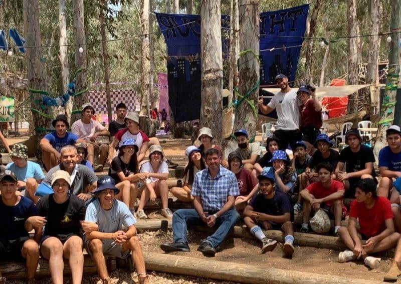 ברודני במחנה הקיץ