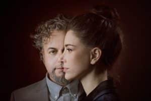 דנה עדיני ודניאל סלומון צילום-טל שחר