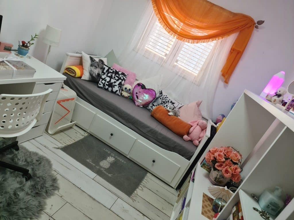 החדר אחרי השיפוץ. צילום: פרטי