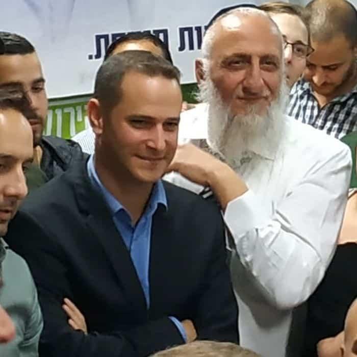 הרב אריה כהן וראש העיר קינסטליך
