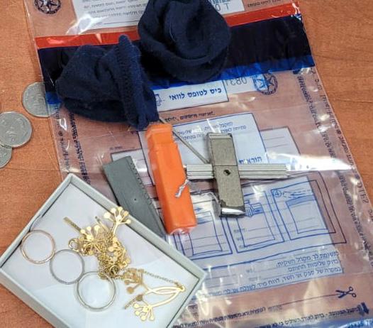 הרכוש הגנוב שנתפס- צילום דוברות משטרת ישראל