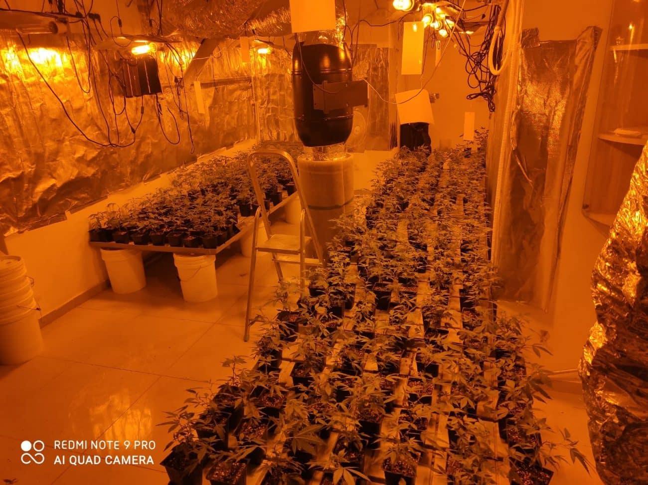 מעבדת סמים, קרדיט: דוברות המשטרה